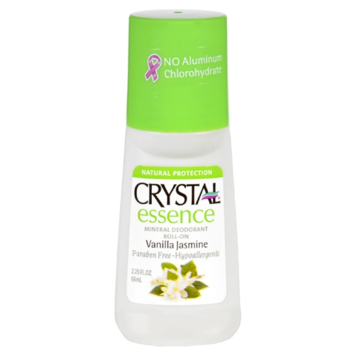 Crystal Deodorants Crystal Essence - Roll-On - Vanilla Jasmine - 2.25 oz