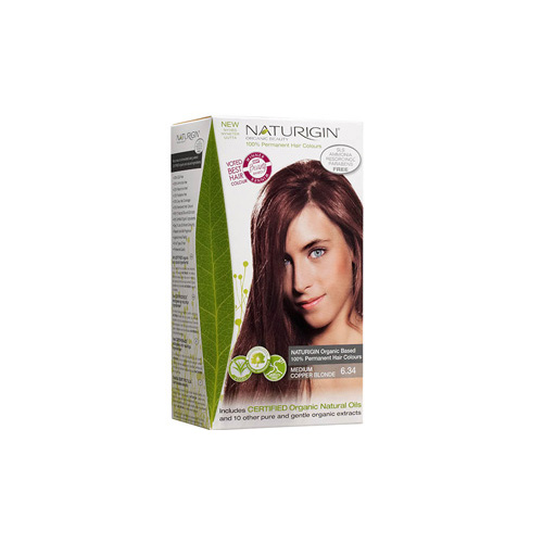 Naturigin Hair Colour - Permanent - Medium Copper Blonde - 1 Count