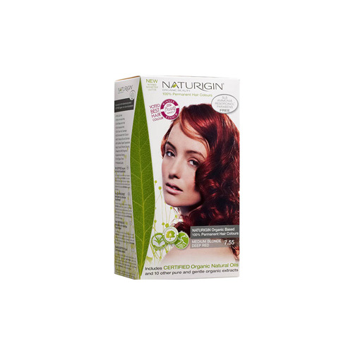Naturigin Hair Colour - Permanent - Medium Blonde Deep Red - 1 Count