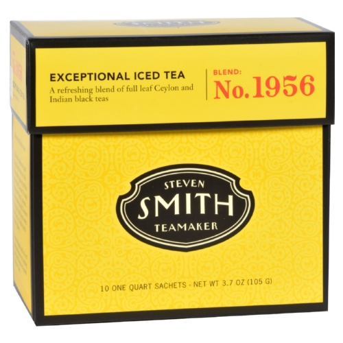 Smith Teamaker Iced Tea - Fez - Case of 6 - 10 Bags