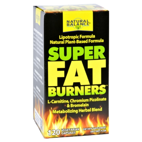 Natural Balance Super Fat Burners - 120 Vegetarian Capsules
