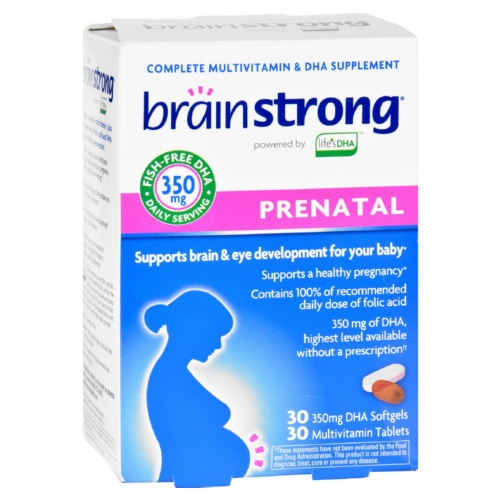 BrainStrong Prenatal - 30 Tablets