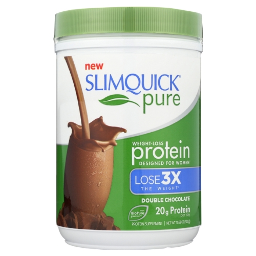 Slimquick Protein Powder - Pure - Women - Chocolate - 10.58 oz