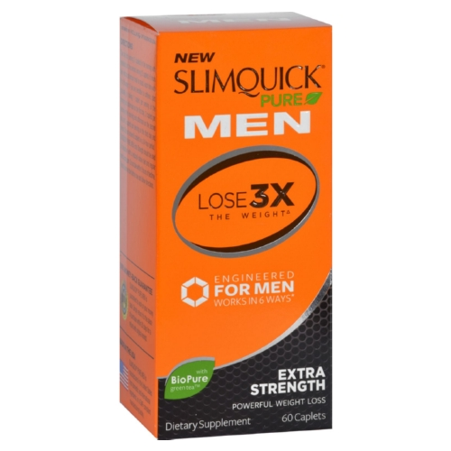 Slimquick - Pure - Men - Extra Strength - 60 Capsules