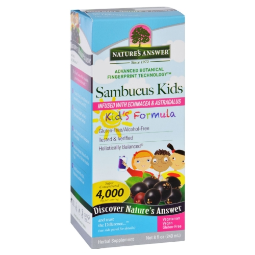 Natures Answer Sambucus - Kids Formula - Original Flavor - 8 oz