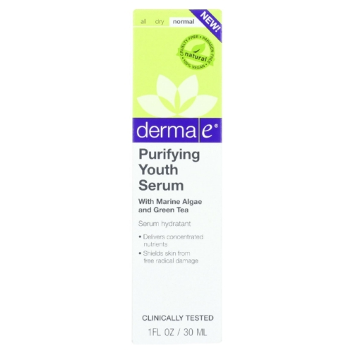 Derma E Youth Serum - Purifying - 1 oz - 1 each