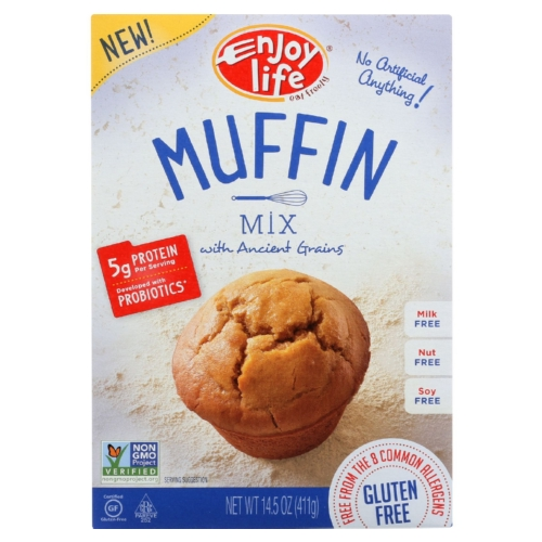 Enjoy Life Baking Mix - Muffin - Gluten Free - 14.5 oz - case of 6