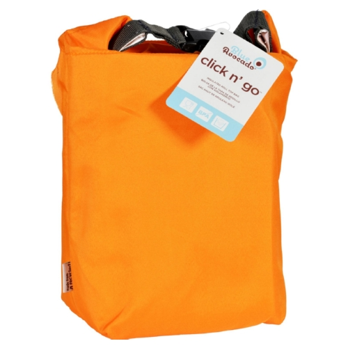 Blue Avocado Bag - Click N Go - Orange - 1 Count