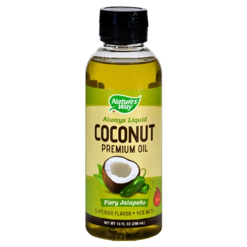Natures Way Coconut Oil - Premium - Fiery Jalapeno - 10 oz