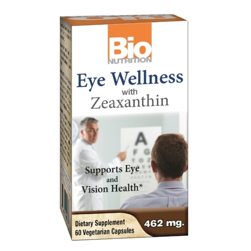 Bio Nutrition Inc Eye Wellness with Zeaxanthin - 60 Vegetarian Capsules