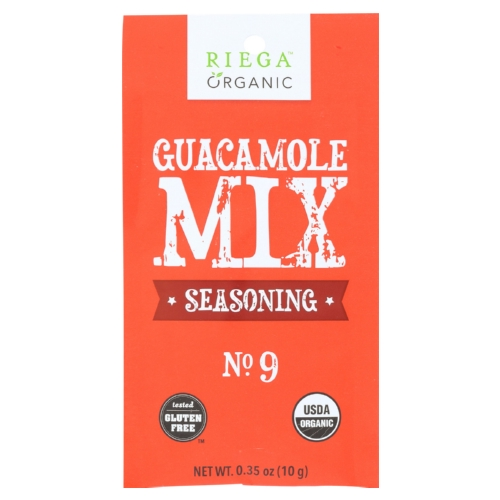 Riega Foods Seasoning Guacamole Mix - Case of 8 - 0.35 oz.