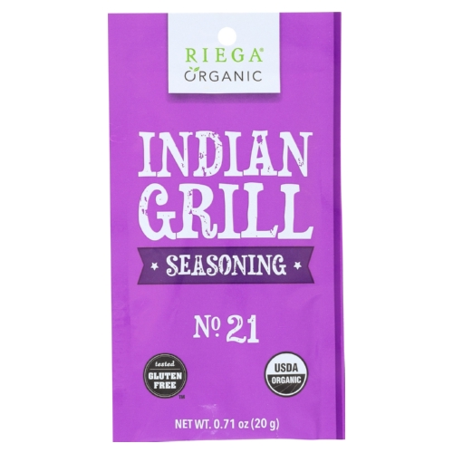 Riega Foods Taco Seasoning - Case of 8 - 0.71 oz.