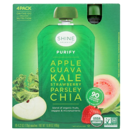 Shine Organics Superfood Purify - Case of 4 - 0.22 oz.