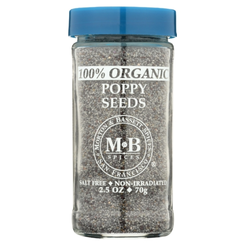 Morton and Bassett Poppy Seed - Poppy - Case of 3 - 2.5 oz.