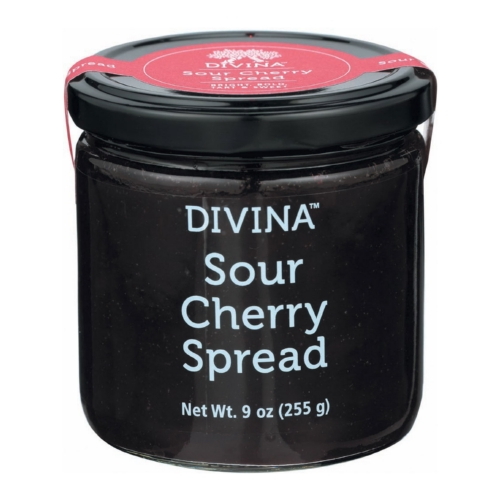 Divina Spread -Sour Cherry - Case of 12 - 9 oz
