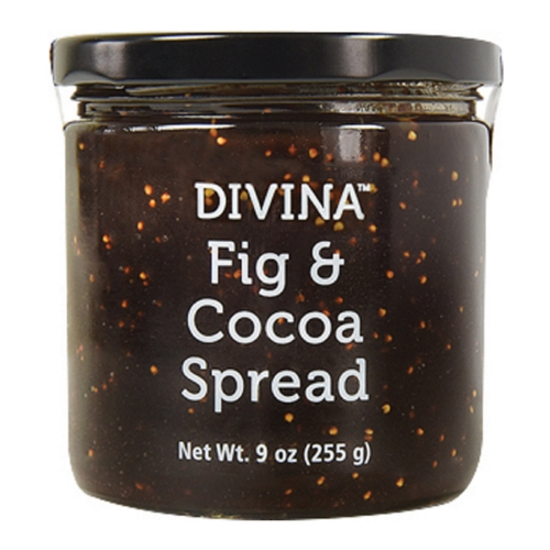 Divina Spread - Fig  Cocoa - Case of 12 - 9 oz
