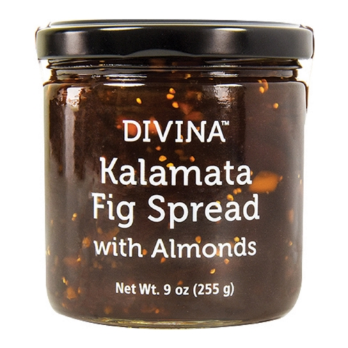 Divina Spread - Kalamata Fig with Almonds - Case of 12 - 9 oz