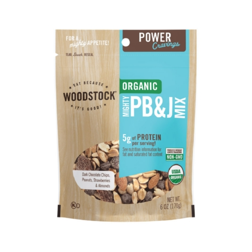 Woodstock Organic Mighty PBJ Snack Mix - 6 oz.