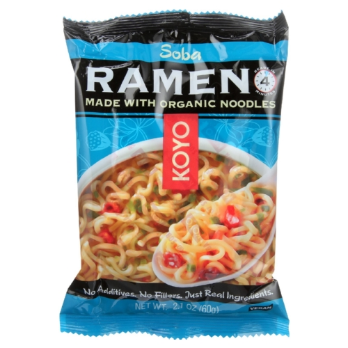 Koyo Dry Ramen - Soba - 2.1 oz - case of 12