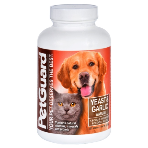Petguard Yeast and Garlic - 160 Wafers