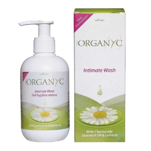 Organyc Feminine Intimate Wash - Natural - 8.5 oz