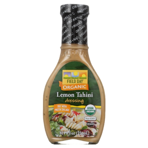Field Day Dressing - Organic - Lemon Tahini - 8 oz - case of 12
