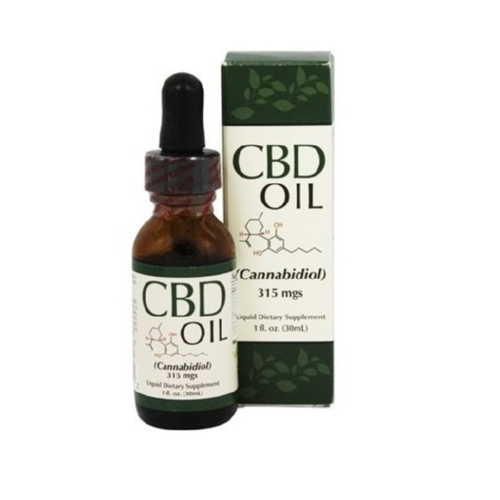 Smart Organics Hemp Oil - CBD - 160 mg - 1 oz
