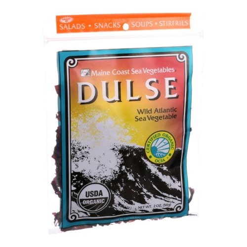 Maine Coast Organic Sea Vegetables - Dulse - Whole Leaf - 2 oz