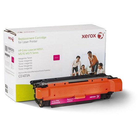 Xerox Remanufactured Magenta Toner Cartridge (Alternative for HP CE403A 507A)