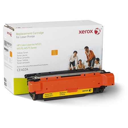 Xerox Remanufactured Yellow Toner Cartridge (Alternative for HP CE402A 507A)