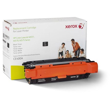 Xerox Remanufactured Black Toner Cartridge (Alternative for HP CE400A 507A)