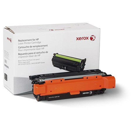 Xerox Remanufactured Black Toner Cartridge (Alternative for HP CE250A 504A)