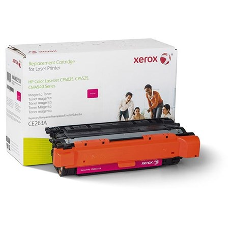Xerox Remanufactured Magenta Toner Cartridge (Alternative for HP CE263A 648A)
