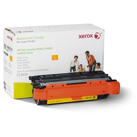 Xerox Remanufactured Yellow Toner Cartridge (Alternative for HP CE262A 648A)