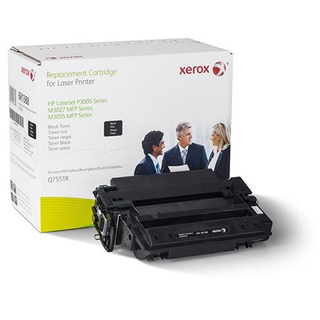 Xerox Remanufactured High Yield Toner Cartridge (Alternative for HP Q7551X 51X)