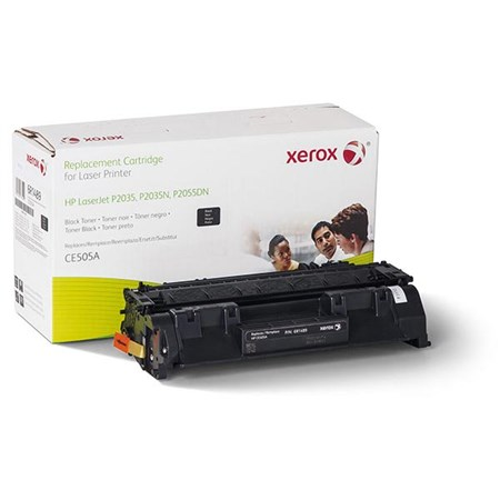 Xerox Remanufactured Toner Cartridge (Alternative for HP CE505A 05A)