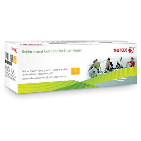 Xerox Remanufactured Yellow Toner Cartridge (Alternative for HP CE252A 504A)
