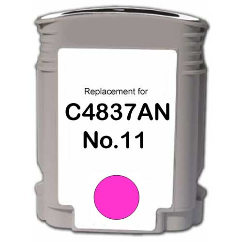Magenta Inkjet Cartridge compatible with the HP (HP11) C4837AN