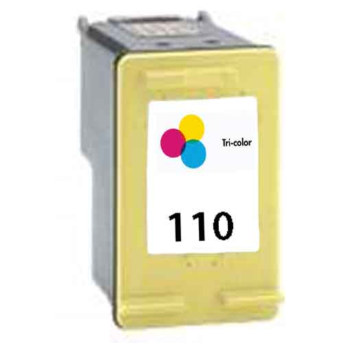 Tri-Color Inkjet Cartridge compatible with the HP (HP 110) CB304AN