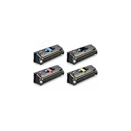 Compatible HP 122A (Q3960A - Q3961A - Q3962A - Q3963A) Toner Cartridge 4PK