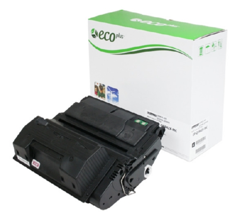 EcoPlus MICR  Black Toner Cartridge compatible with the HP (HP 45A) Q5945A