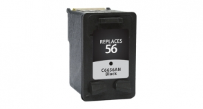 Compatible Premium Brand HP C6656AN HP 56 Black Inkjet Cartridge