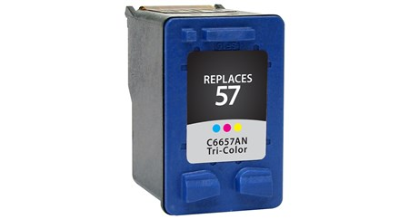Compatible Premium Brand HP HP57 C6657AN Color Inkjet Cartridge