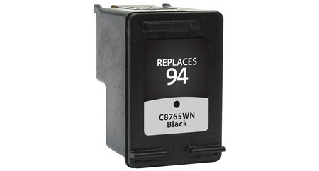 Compatible Premium Brand HP C8765WN HP 94 Black Inkjet Cartridge