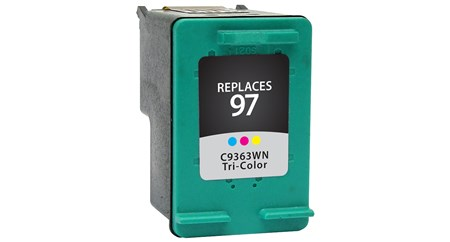 Compatible Premium Brand HP C9363WN HP 97 Tri-Color Inkjet Cartridge