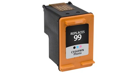 Remanufactured Alternative to HP C9369WN (HP 99) Photo Inkjet Cartridge