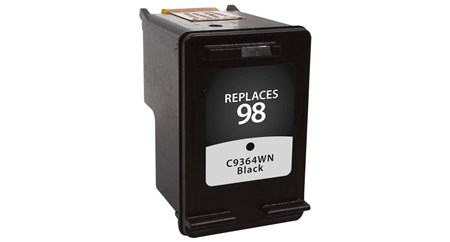 Compatible Premium Brand HP C9364WN HP 98 Black Inkjet Cartridge