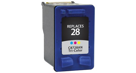 Compatible Premium Brand HP C8728AN HP 28 Tri-Color Inkjet Cartridge