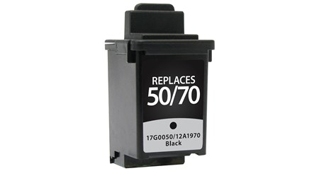 Lexmark 12A1970 Black Inkjet Cartridge