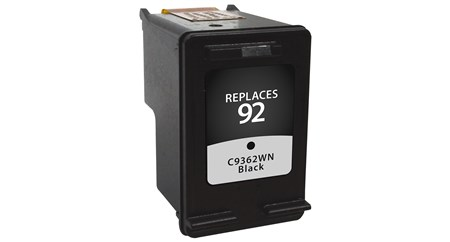 Compatible Premium Brand HP C9362WN HP 92 BlackInkjetCartridge
